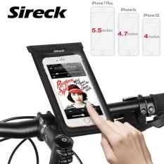 Spesifikasi Sireck Tahan Air Debu Touchscreen Proof Bicycle Phone Holder Phone Case Phone Bag Bracket Untuk Sepeda Sepeda Bingkai Bersepeda Tas Intl Bagus