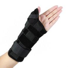 Ukuran M For Tangan Kanan New Carpal Tunnel Medis Wrist Support Sprain Strap Tali Protector Wrist Brace Thumb Spica Dukungan Pads Oem Diskon 30