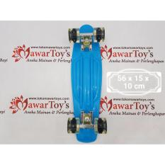 Penawaran Istimewa Skateboard Fiber Type Penny Board Led Wheels Original Terbaru