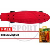 Promo Skateboard Mini Merah Multi