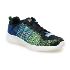 Diskon Skechers Burst In The Mix Sepatu Lari Pria Black Multi Skechers