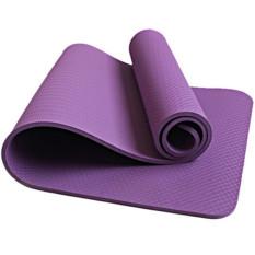 Jual Slip Outdoor Sports Multifunction 6Mm Coaching Leveltpe Yoga Mat For Women Purple Import