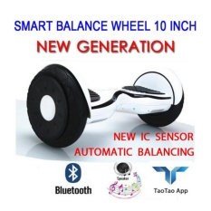 Smart Balance Wheel / Hoverboard 10 Inch / New Generation - (white) By Trilionair_shop.