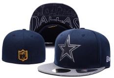 Sneakers Snapback Fashion Dallas Cowboys Football Topi Pria Wanita Sport Topi Unisex NFL Adjustable Bordir Bone (Navy Biru) -Intl