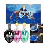 Spesifikasi Snorkel Snorkling Diving Scuba Snorkle Mask Full Face Size L Xl Oem