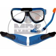 Beli Snorkling Diving Focus Intex Biru Terbaru