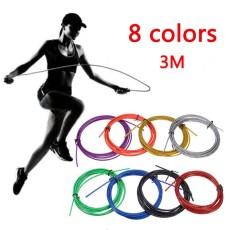 Tali Tambang Cadangan 2.5 Mm * 3 M CrossFit Kabel Ganti Kabel Kecepatan Lompat Tali Tali