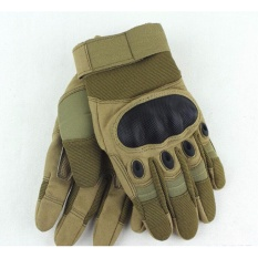 Cara Beli Specifications Of Men Full Finger Adjustable Outdoor Sports Hunting Shooting Driving Motorcycle Riding Cycling Mountain Climbing Military Tactical Fitness Hand Gloves Intl