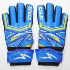 Specs Meteor Sentinel+ GK Gloves Terry Blue Yellow  Sarung Tangan Kiper