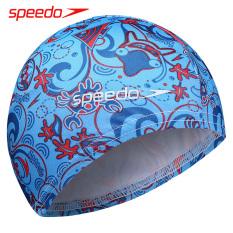 Speedo anak laki-laki dan perempuan dengan rambut panjang pelindung telinga topi renang topi renang anak-anak topi renang topi renang