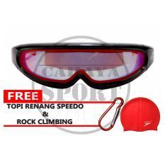Jual Speedo Kacamata Renang Lx 4100 Merah Baru