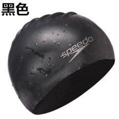 Jual Speedo Plain Flat Silicone Cap 100 Silica Gel Swimming Hood Caps Untuk Dewasa Pria Atau Wanita Intl Lengkap