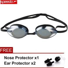 Diskon Speedo Waterproof Anti Kabut Eye Swimming Goggles Swim Glasses Lensa Pc Tali Silikon Internasional