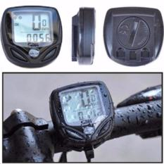 Beli Speedometer Sepeda Wireless Display Lcd Sd 548C S8123 Black Murah Dki Jakarta