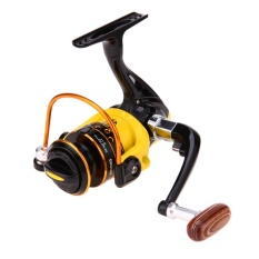 Review Terbaik Spinning Reel Aluminium Spool Fishing Reel Fish Tackle Roda Kuning Hd1000 Intl