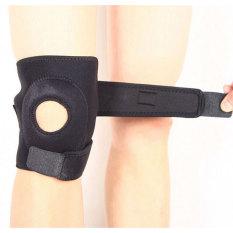 Spesifikasi Sport Adjustable Kneepad Power Brace Pelindung Lutut Black Lengkap