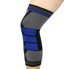Beli Sport Lutut Lengan Protector Wrap Support Pad Bekerja Up Basket Outdoor Strap Brace Hitam Xl Intl Murah