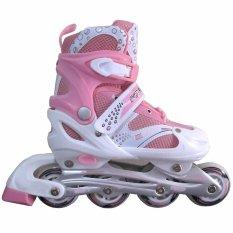 Sport Power Line Sepatu Roda Anak - Pink M