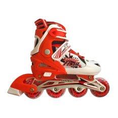 Harga Sport Sanoway Sepatu Roda Anak Merah Branded