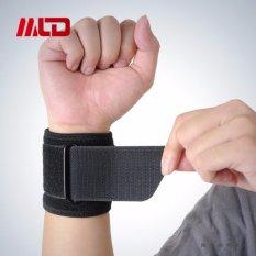 Olahraga Gym Gelang Elastis Pergelangan Tangan Band Pendukung Bungkus Guard PROTECTOR-Intl