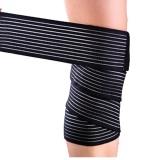 Beli Olahraga Luar Ruangan Bungkus Tangan 130 Cm Lutut Pergelangan Tangan Pergelangan Kaki Elastis Perban Kompresi Bungkus Lengan Pendukung Perlindungan Intl