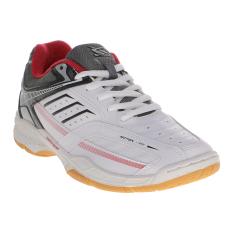 Spotec Bravia Sepatu Badminton - Putih-Hitam