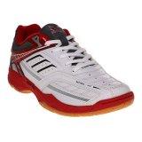 Jual Cepat Spotec Bravia Sepatu Badminton Putih Merah