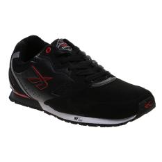 Beli Spotec Colombus Sepatu Lari Black Red Terbaru