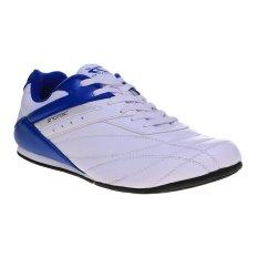 Review Spotec Corner Lace Sepatu Taekwondo Putih Biru Spotec