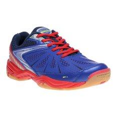 Spotec Deception Sepatu Badminton - Biru/Merah