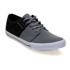 Spesifikasi Spotec Edward Sepatu Sneakers Abu Abu Tua Hitam Murah