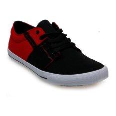 Harga Spotec Edward Sepatu Sneakers Hitam Merah