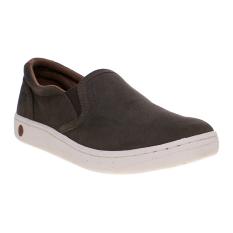 Spotec Futton Leather Sepatu Sneakers - Cokelat-Putih