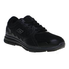 Jual Spotec Genesis Sepatu Lari Black Black Murah
