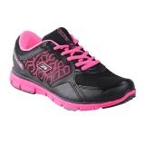 Toko Spotec Genesis Sepatu Lari Black Hot Pink Lengkap Jawa Barat