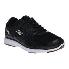 Jual Spotec Genesis Sepatu Lari Black White Di Bawah Harga