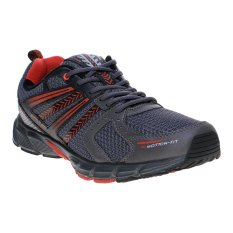 Spotec Gizmo Sepatu Lari - Abu Tua-Merah