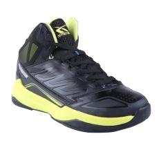 Spesifikasi Spotec Hornets Sepatu Basket Hitam Hijau Cerah