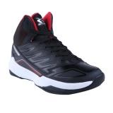 Jual Cepat Spotec Hornets Sepatu Basket Hitam Merah