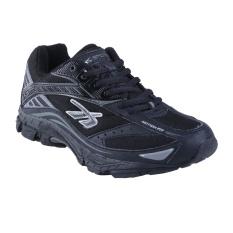 Spotec Kinetic Sepatu Lari - Hitam/Hitam
