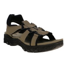 Spotec Legendary Healthy Sandal Hiking Gunung Tracking - Sandy-Black-White