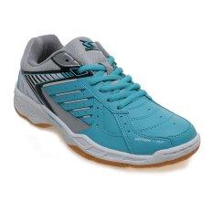 Spotec Max Score Sepatu Badminton - Emerald-White