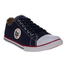 Ulasan Lengkap Spotec Moonstar Sepatu Sneakers Navy White