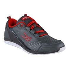 Beli Spotec Move On Sepatu Sneakers Olahraga Abu Abu Tua Oranye Spotec