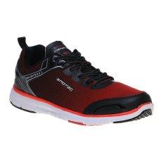 Harga Spotec Omni Light Sepatu Lari Hitam Merah Termahal