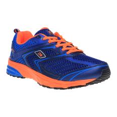Ulasan Mengenai Spotec Power Max Plus Sepatu Lari Dark Navy Orange