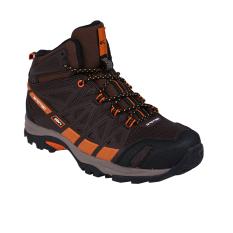 Cuci Gudang Spotec Rocky Sepatu Hiking Sepatu Gunung Coklat Coklat Tua
