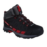 Review Spotec Rocky Sepatu Hiking Sepatu Gunung Hitam Merah Spotec
