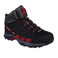 Spotec Rocky Sepatu Hiking/Sepatu Gunung - Hitam/Merah