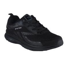 Spesifikasi Spotec Romans Sepatu Lari Hitam Hitam Terbaru